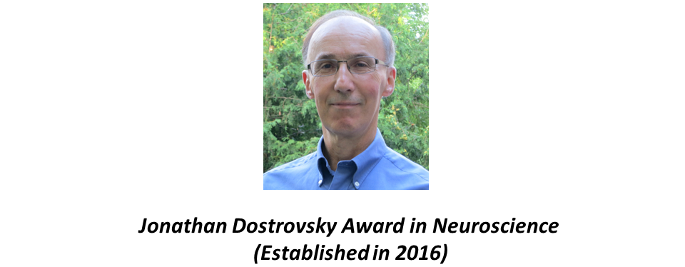 Jonathan Dostrovsky Award in Neuroscience